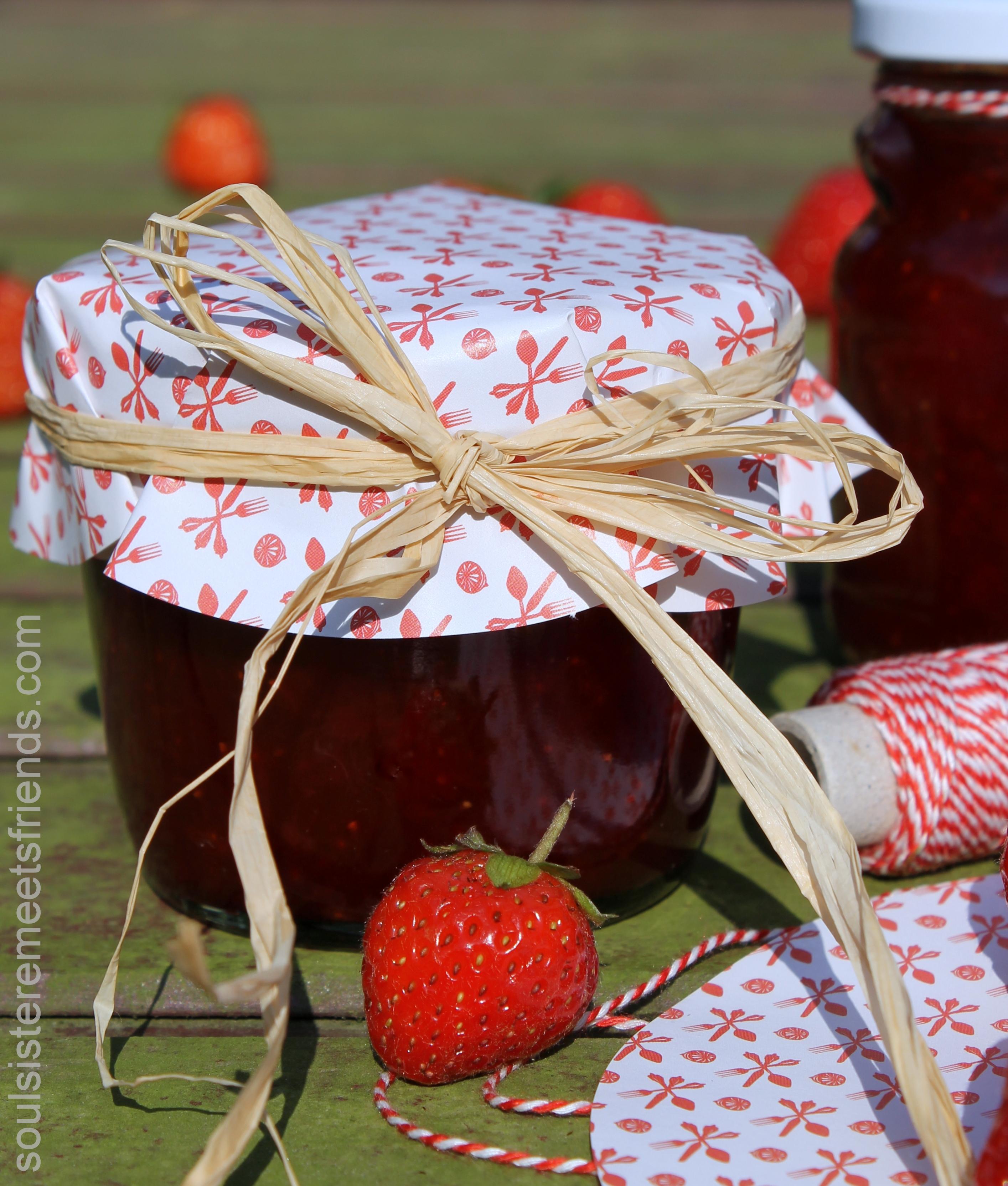 Marmelade flach