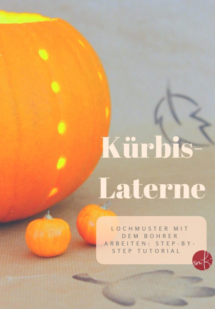 #Kürbis - Laterne zu #Halloween: das step-by-step #Tutorial