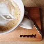 Da schwimmt ein Schiff in meinem Kaffee ...