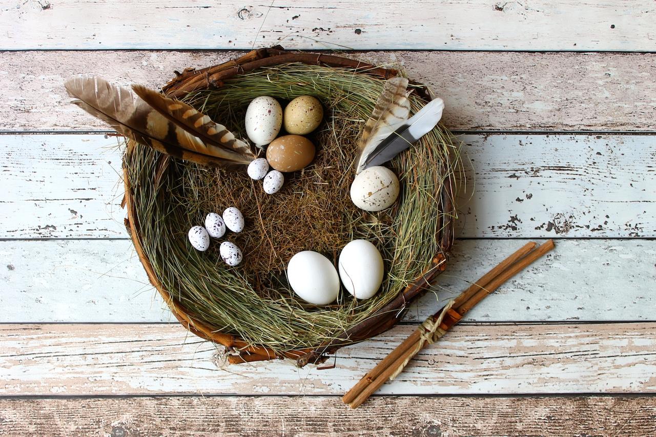 Ostern Osternest smf