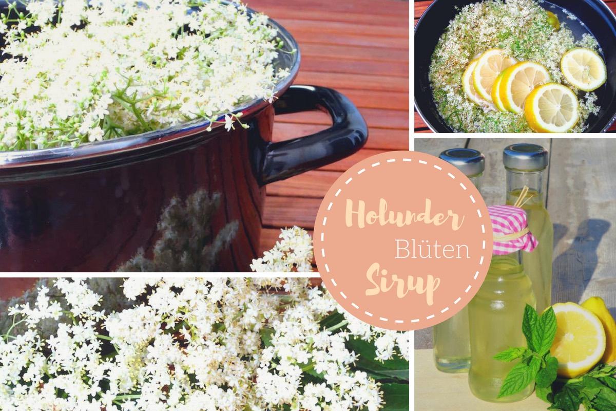 Holunderblüten #Sirup selber kochen – Sommer in Flaschen!