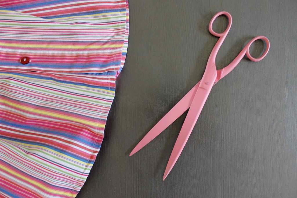 Upcycling DIY: Sein Oberhemd – meine Bluse