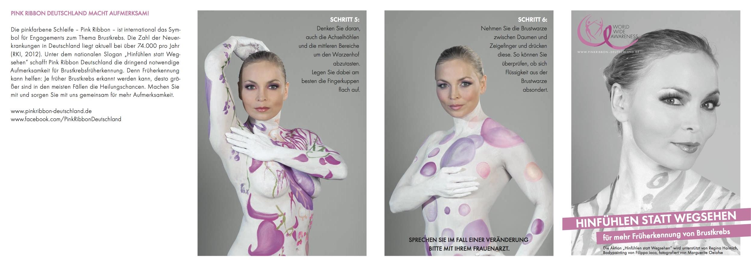 Pink Ribbon Deutschland-Brustkrebs-Früherkennung