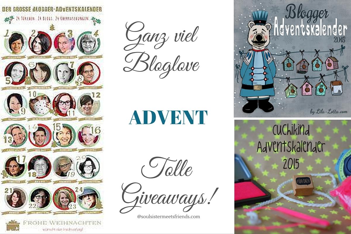 Adventskalender und Giveaways