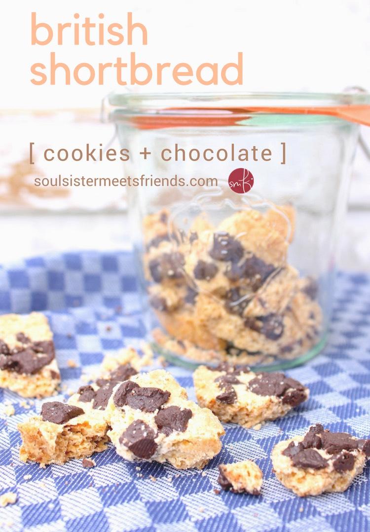 #Cookies mit Schokolade: British Shortbread