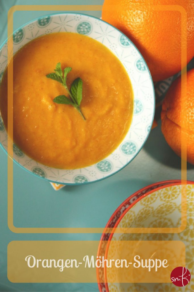 Detox: Orangen-Möhren Suppe: