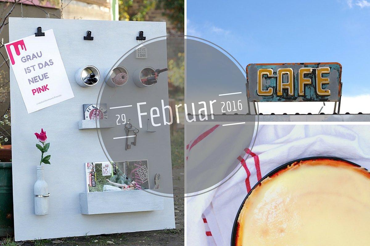 Februar-Schaltjahr-Monatsrückblick