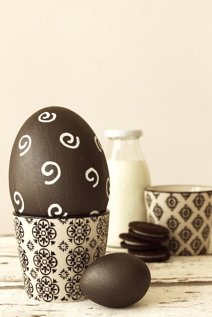 Tafellack und Kreidestift für kreative Ostereier!