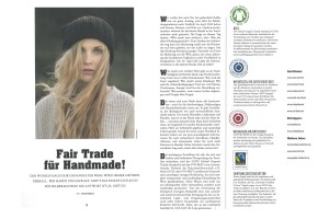 Reportage Fair Trade für Handmade