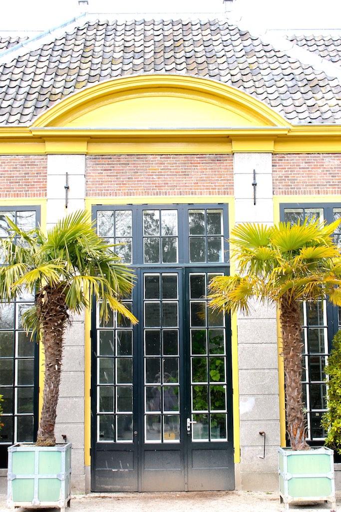 Das tropische Gewächshaus im Hortus botanicus