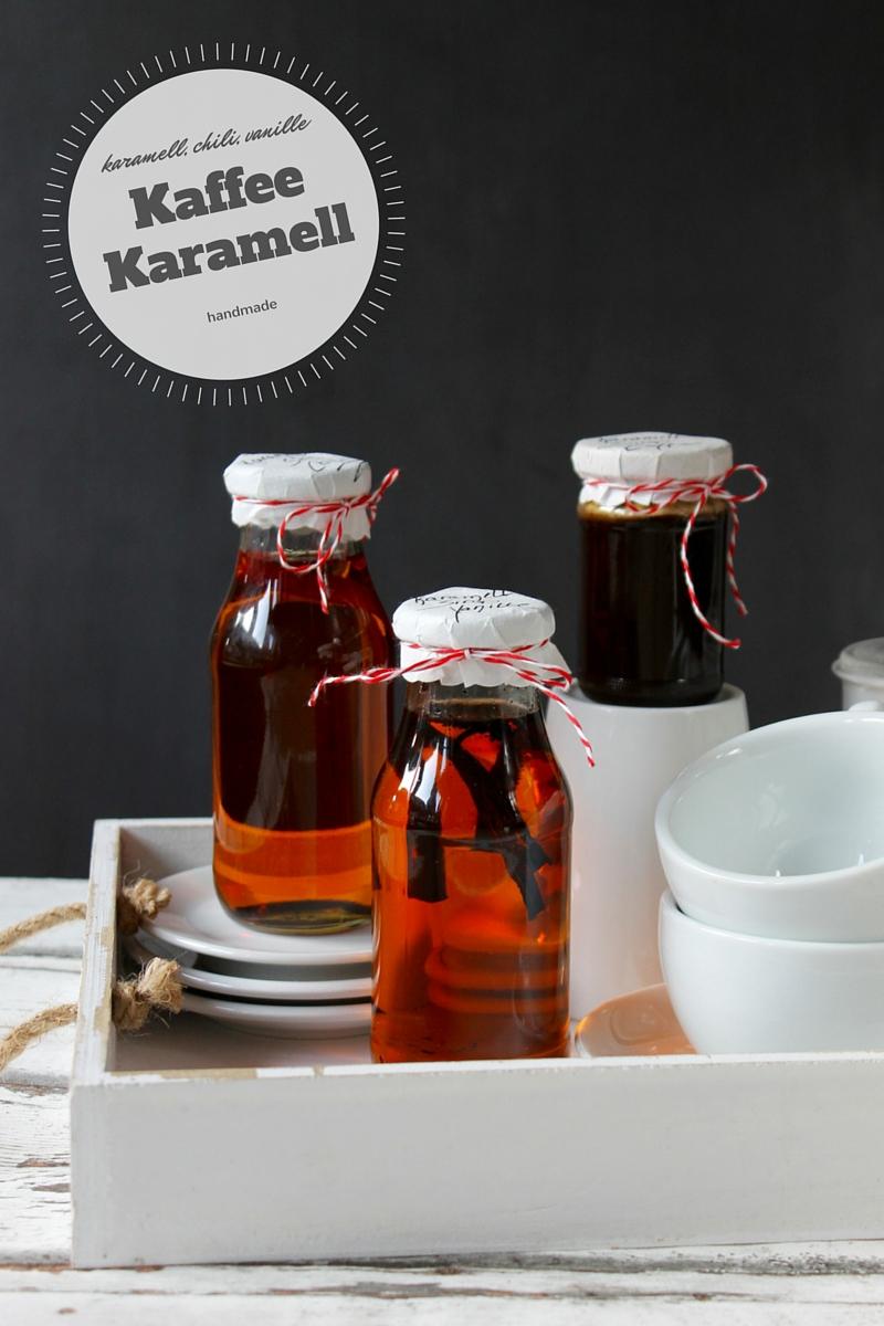 Kaffee mit Karamell: Zimt, Vanille oder Chili!
