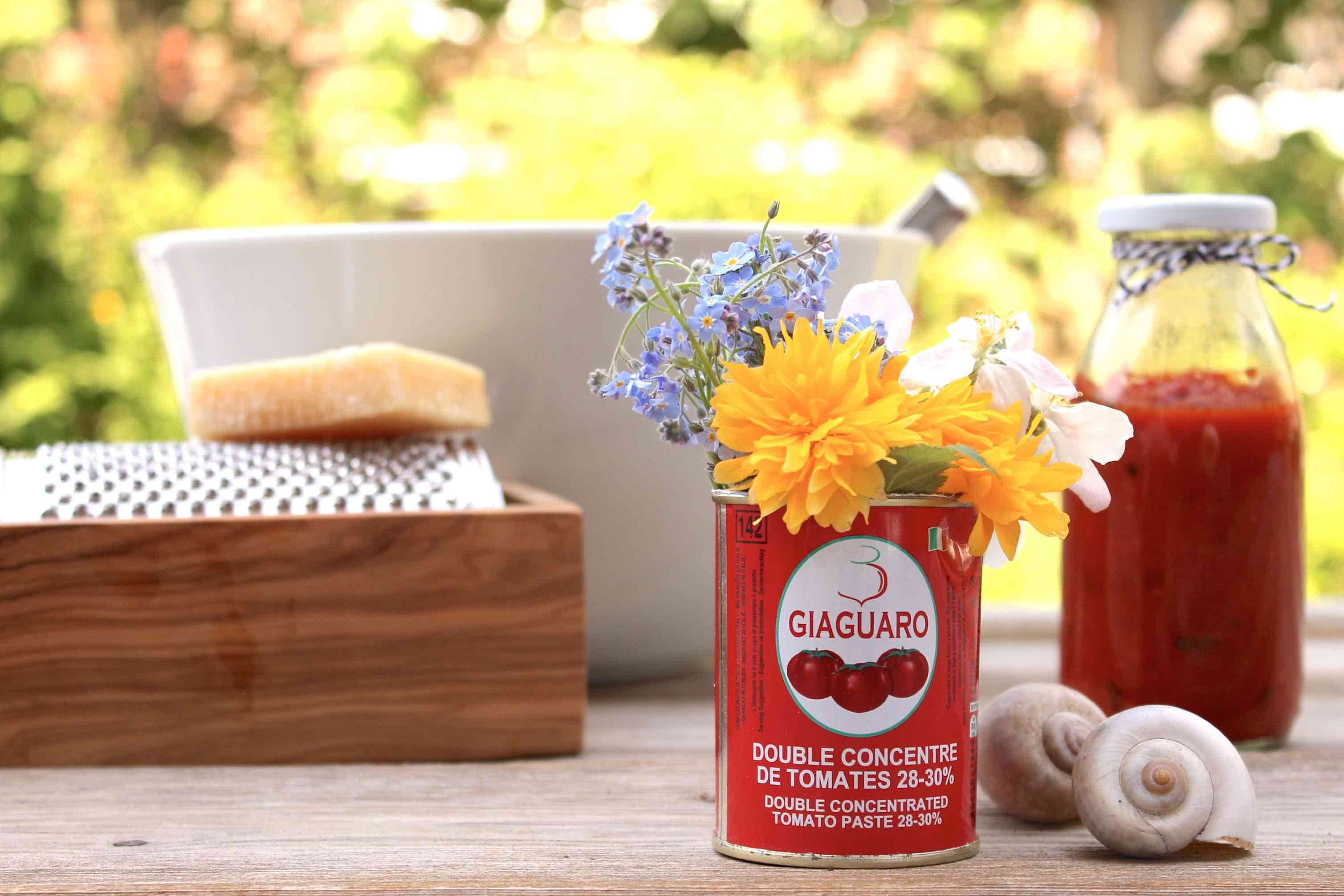 Blumen In Der Dose Erst Tomatensauce Dann Tischdeko Soulsister