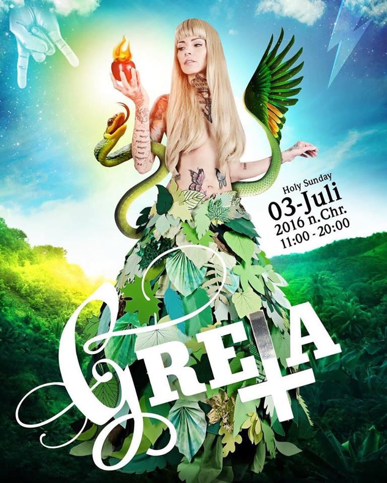 Wencke als Model für den sensationell kreativen Markt GRETA. Foto: Myriam Topel, Gestaltung: XXXXXXX