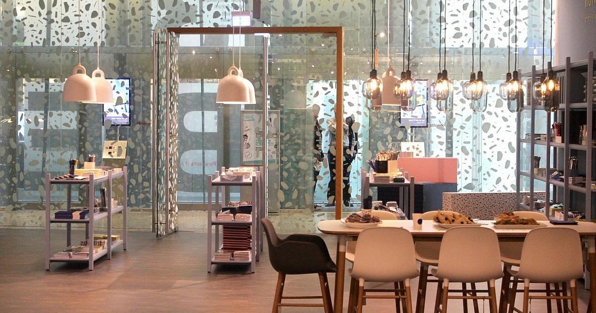 Deutschlandpremiere der normann copenhagen flagshipstore for Normann copenhagen online shop