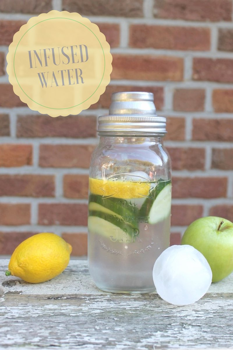 Infused water: so frisch, so gut!