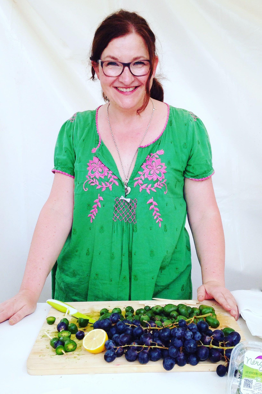 Ganz in Grün: als Foodblogger für NERGI auf dem Gourmet Festival in Düsseldorf