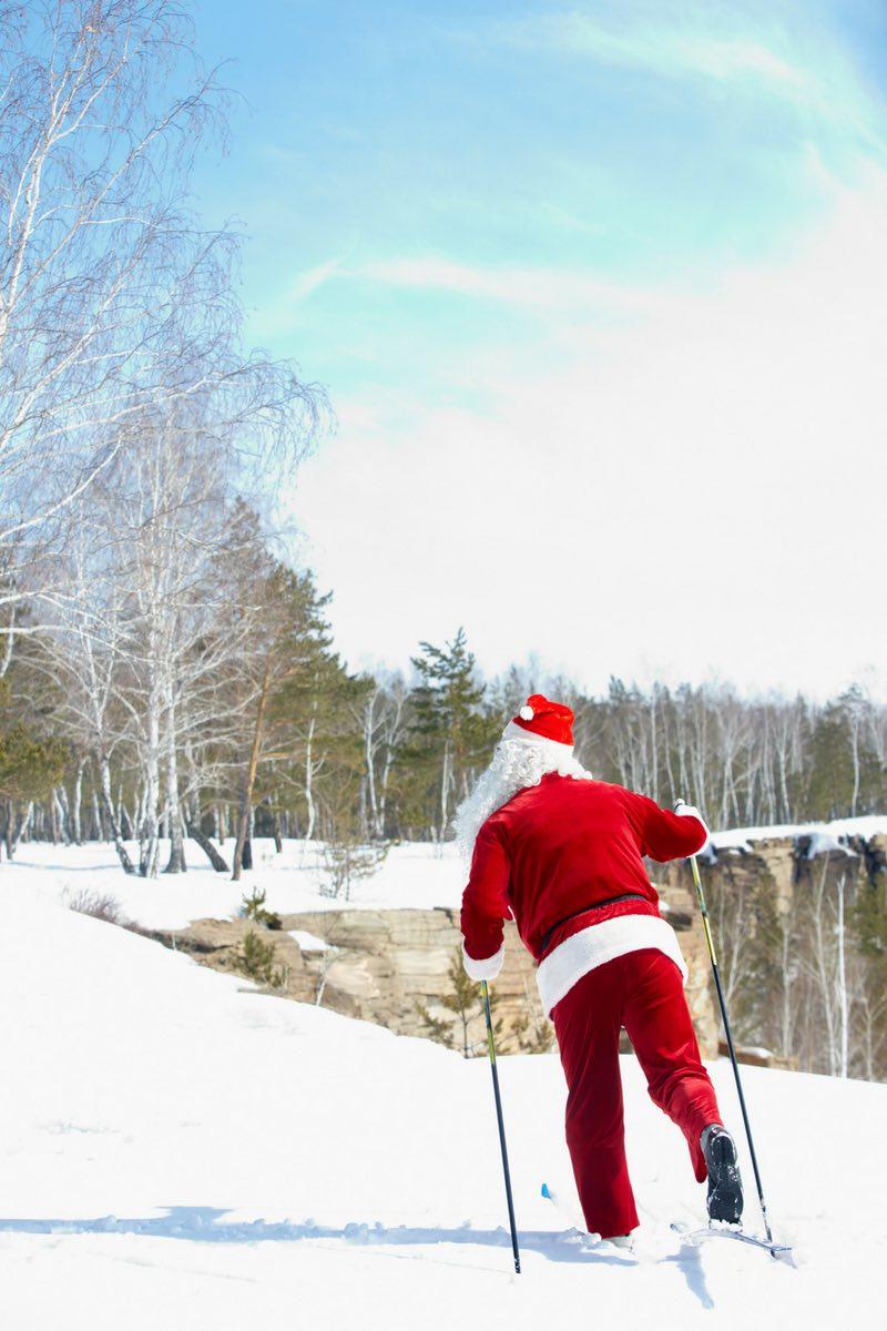 Mein monatliches Interview als Weihnachtsedition: Fünf Fragen an den Weihnachtsmann