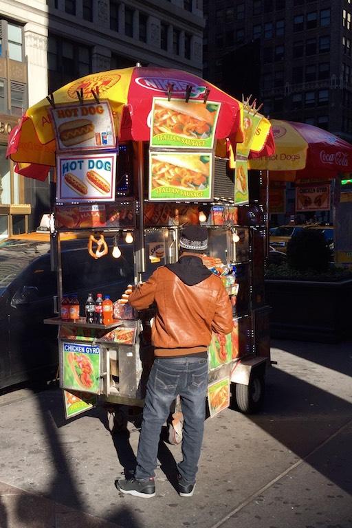 New York Style Hot Dog: mit Sauerkraut!