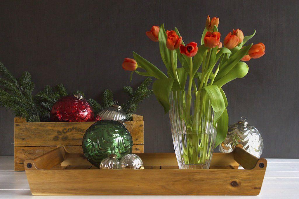 Tradition bei uns zuhause: Tulpen zu Weihanchten