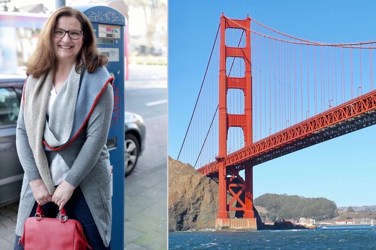 Design by soulsistermeetsfriends: das Stricktuch Golden Gate