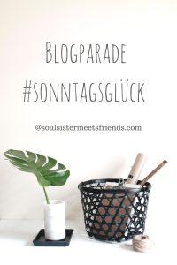Blogparade #sonntagsglück: verlinken und entdecken!