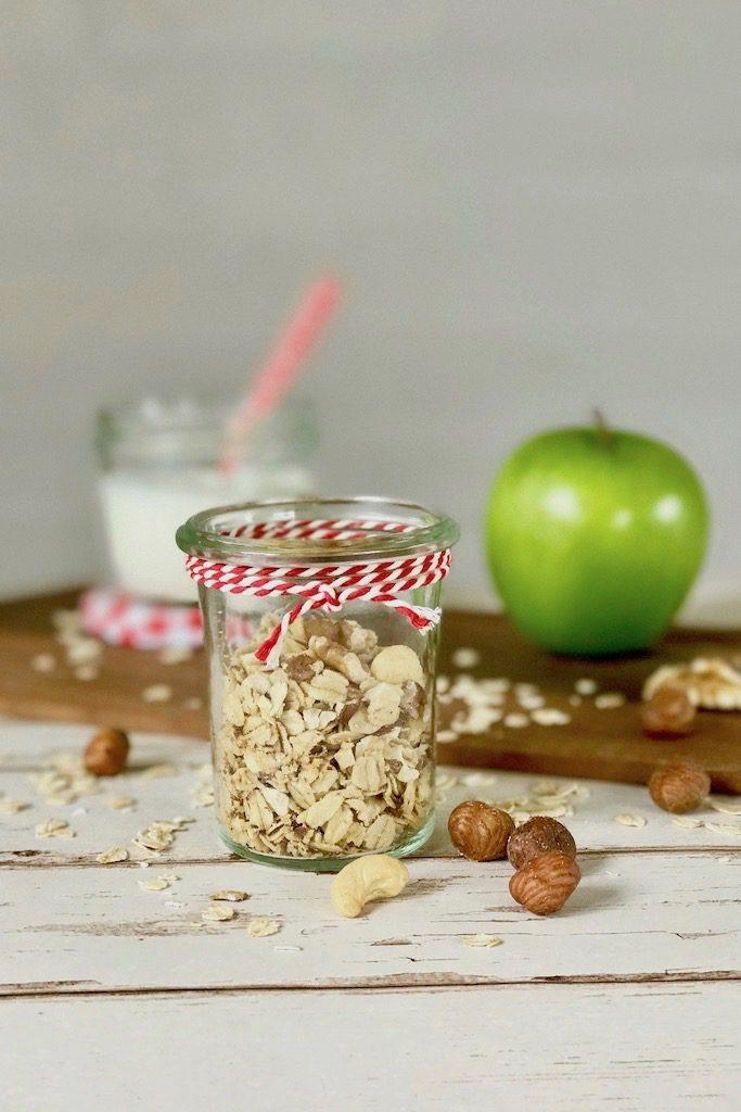 Knuspriges Granola: gesundes Frühstück selbstgemacht