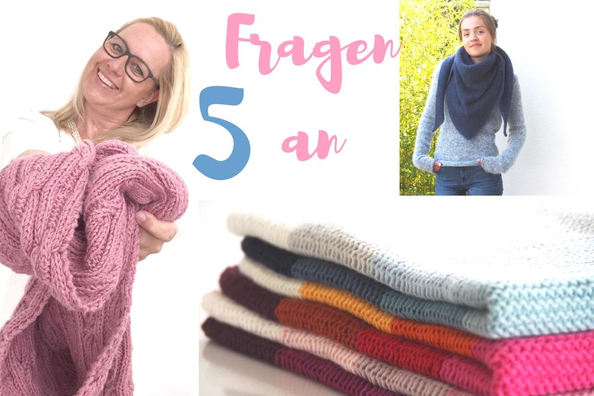 Fünf Fragen an Sandra Kirchner @MeinefabelhafteWelt zum thema Stricken. Das Interview auf soulsistermeetsfriends.com