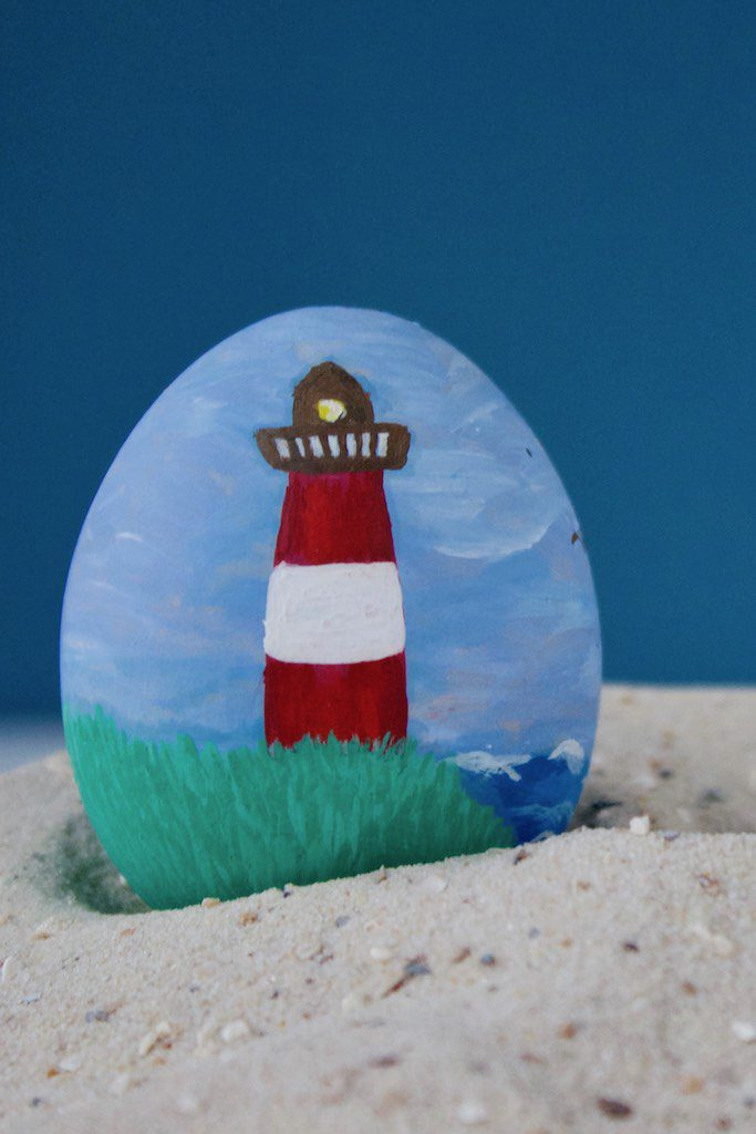 Urlaubs-Erinnerungen als Oster-Deko