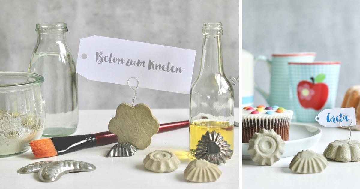 Beton zum Kneten: das DIY Tutorial von soulsistermeetsfriends