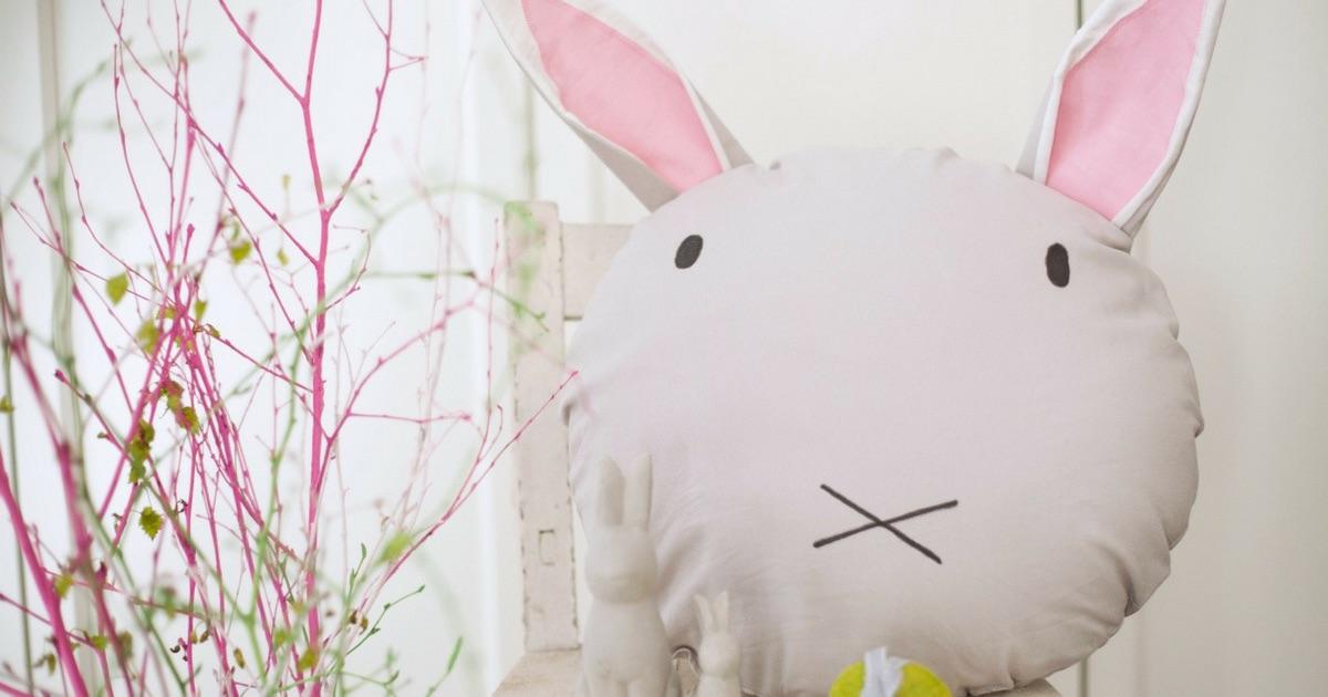 Ein Hasen-Kissen für Kids – das DIY Tutorial mit @Rhein herzt Elbe ...