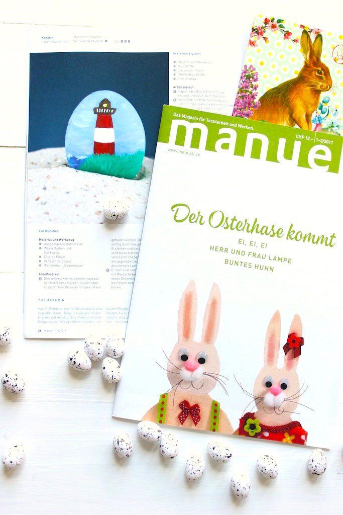 Print Feature: meine Oster DIY's in der Schweiz