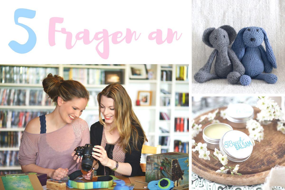 Fünf Fragen an Jutta und Maike zum Babyboom auf Kreativfieber!