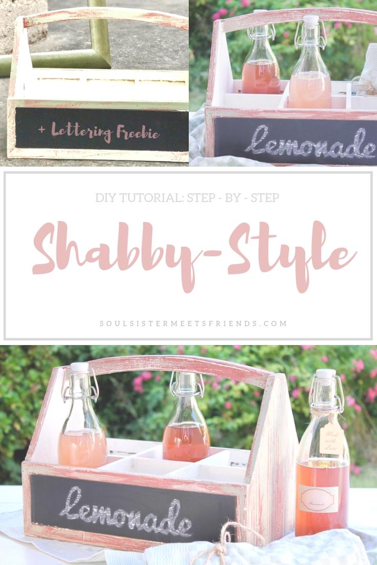DIY Tutorial Shabby Style: so lässt du Holz altern!