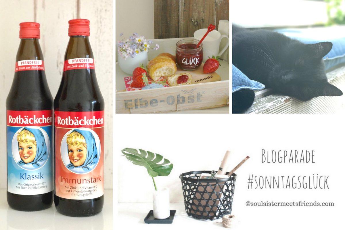 Netzwerken für Blogger mit der Blogparade #sonntagsglück auf soulsisstermeetsfriends