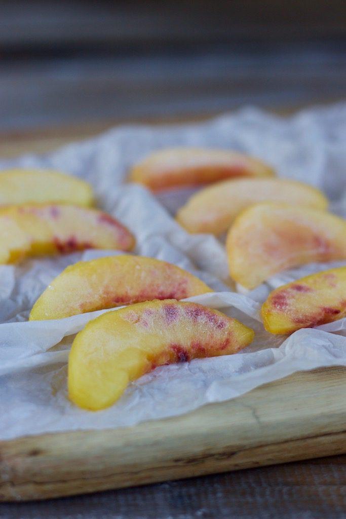 Wine Slushie mit Pfirsich: eiskalt & erfrischend!