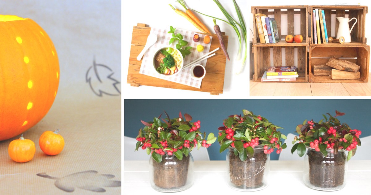 die besten bastel ideen und leckere rezepte f r den herbst soulsister meets friends. Black Bedroom Furniture Sets. Home Design Ideas