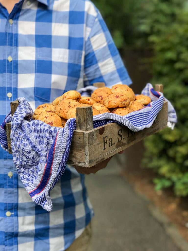 Fingerfood: herzhaft Brötchen fürs Party Buffett