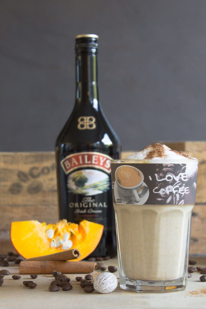 Pumpkin Spice Latte special edition: with Baileys