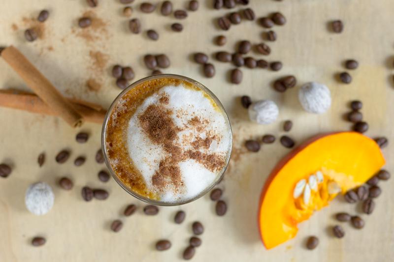 Pumkin Spice Latte: Kaffee und Kürbis mit einem Schuss Baileys