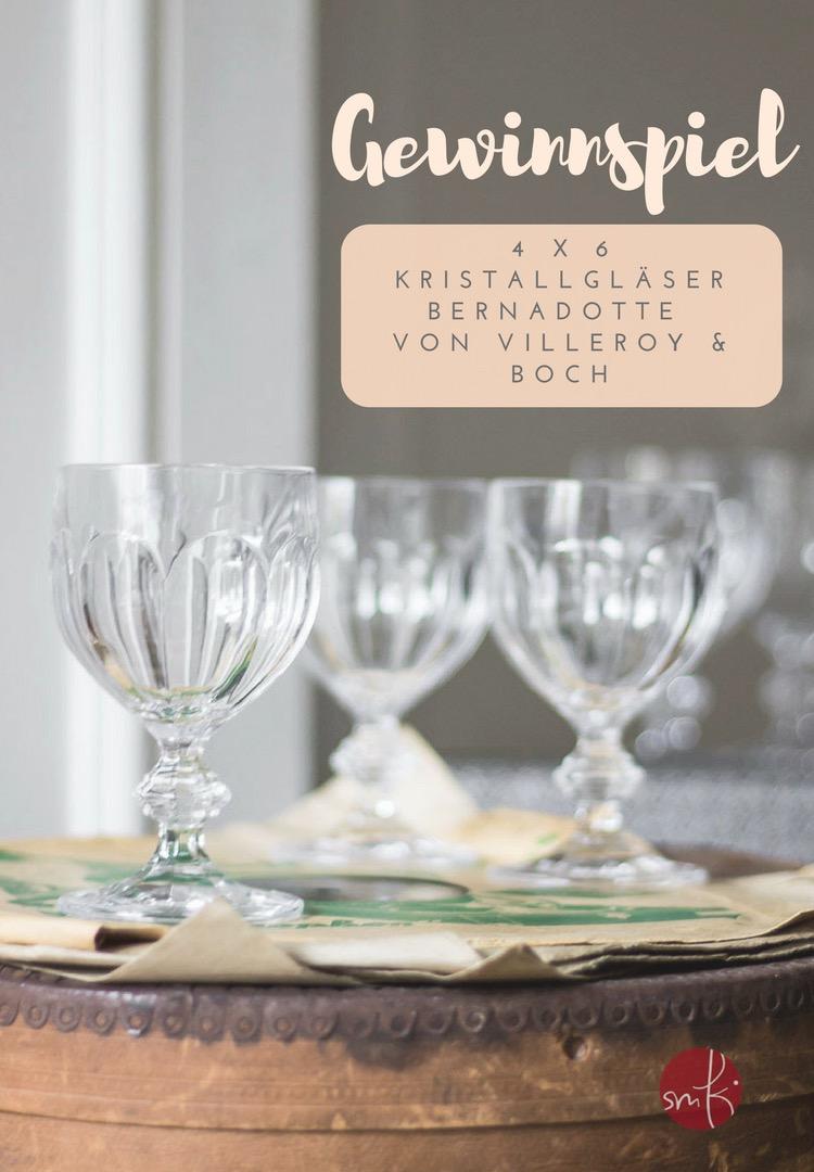 Grosses Gewinnspiel: 4 x 6 Gläser im Vintage Style