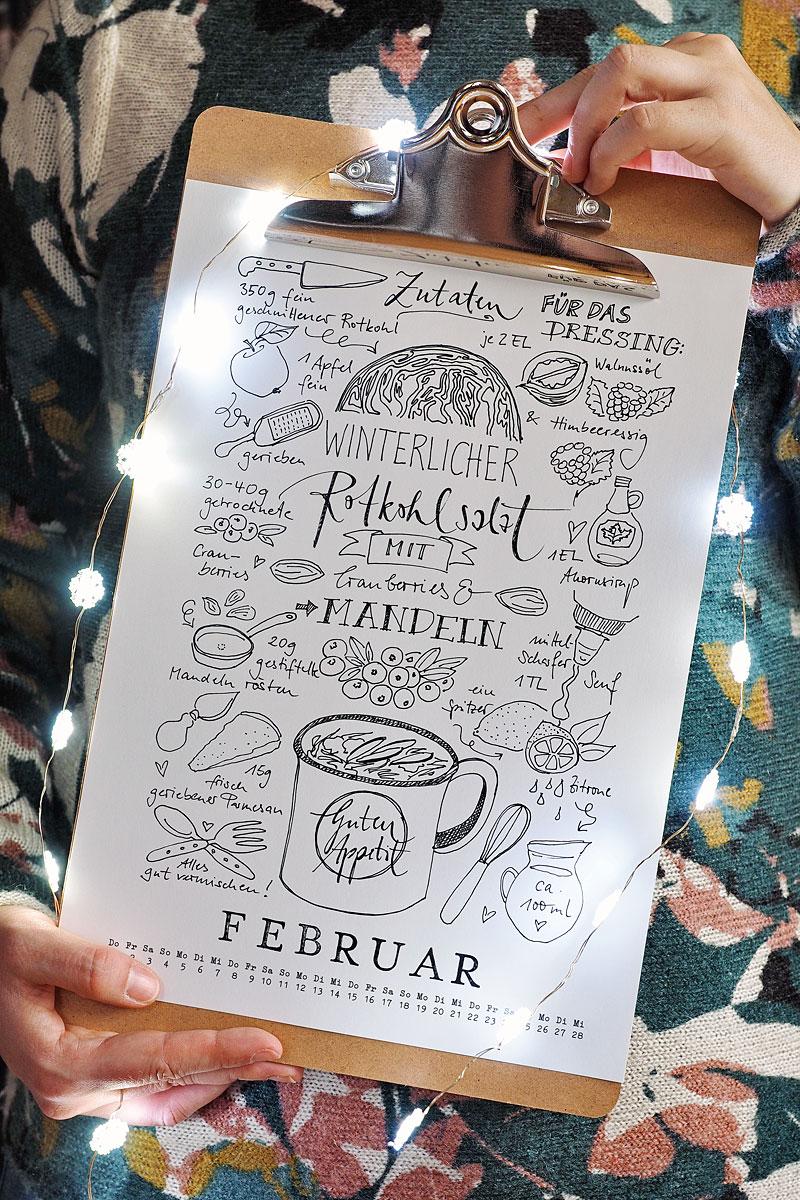 Kalender 2018: Freebies zum Download!