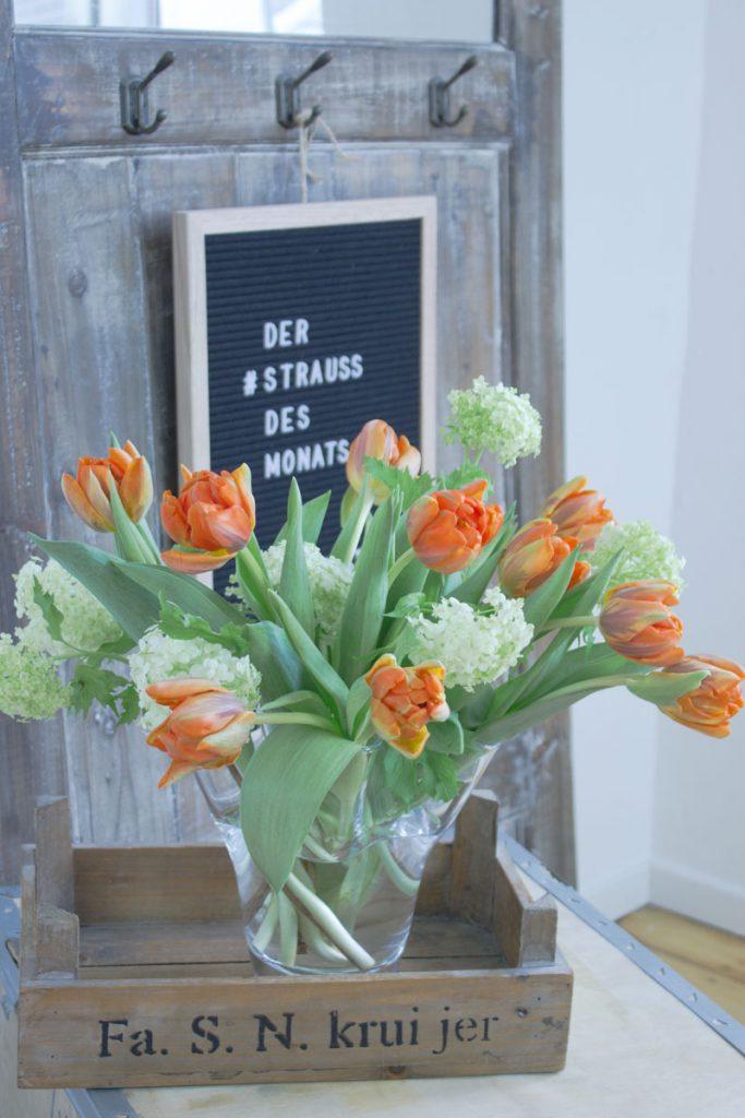 Tulpen im Januar: der Blumenstrauß des Monats!