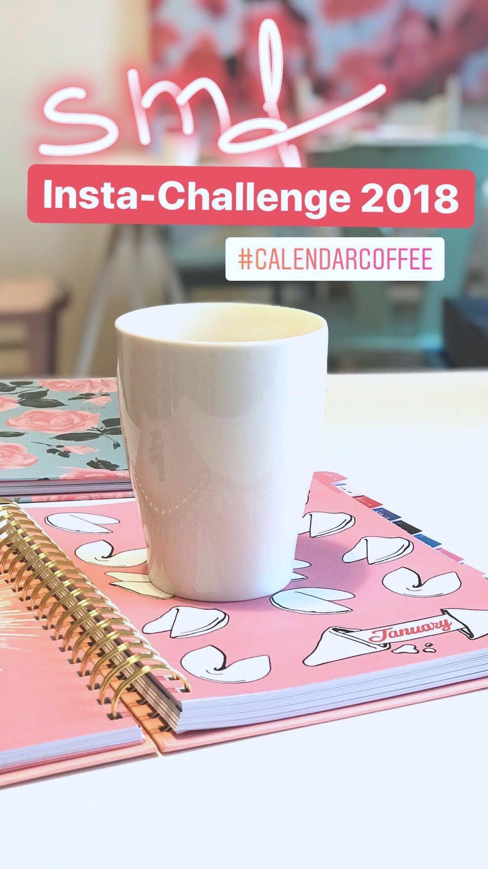 Instaschallenge: Kalender & Kaffeeliebe