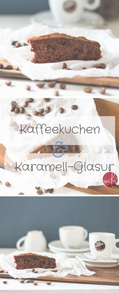 Schokoladenkuchen mit Kaffee & Karamell-Glasur ... so lecker!