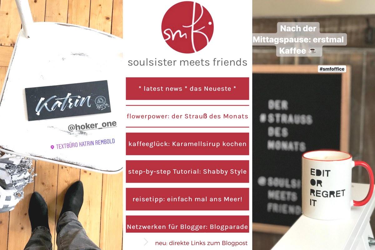 Blogparade #sonntagsglück: Netzwerken für Blogger! › soulsister ...