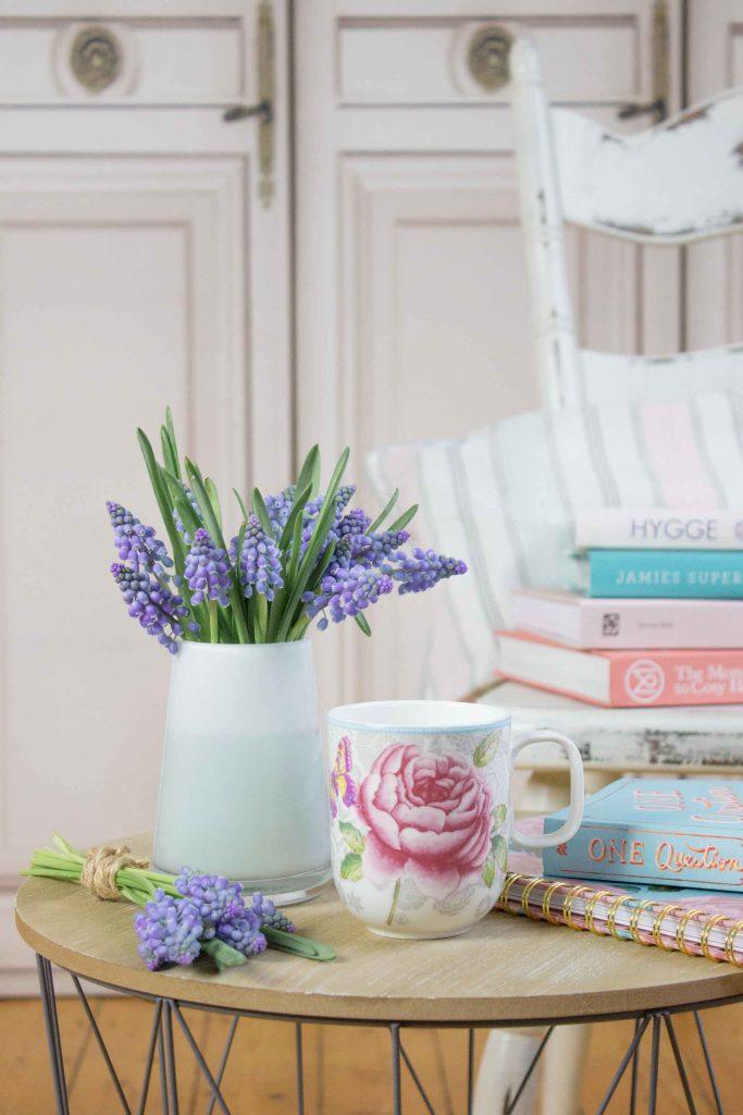 #Blumendeko: Perlhyazinthen als Frühlings-Dekoration