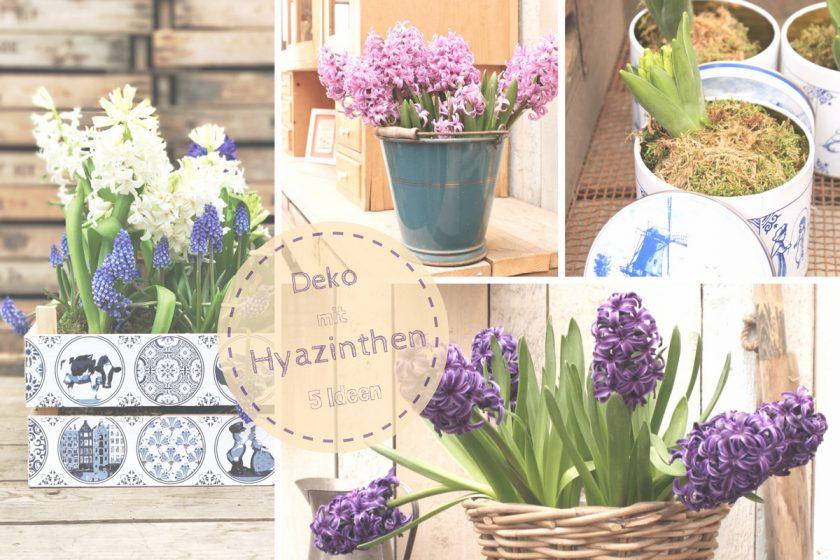 Fünf tolle Ideen für #Hyazinthen