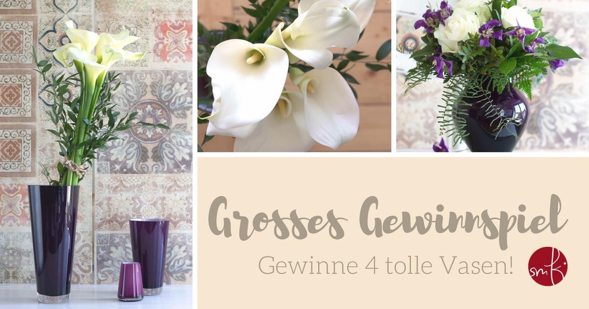 Grosses Gewinnspiel: 4 Vasen von Villeroy & Boch zu gewinnen!