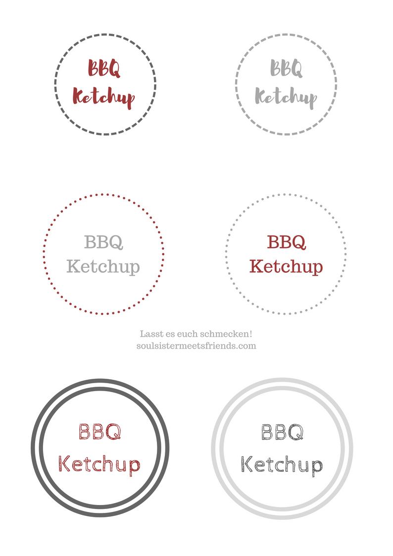 BBQ-Ketchup selber machen! #bbq #ketchup