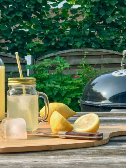 Grilled Lemonade: Zitronenlimonade vom Grill